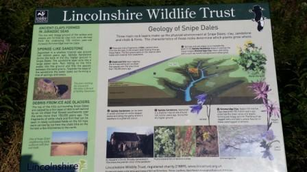 Snipe Dales Geology Information Board