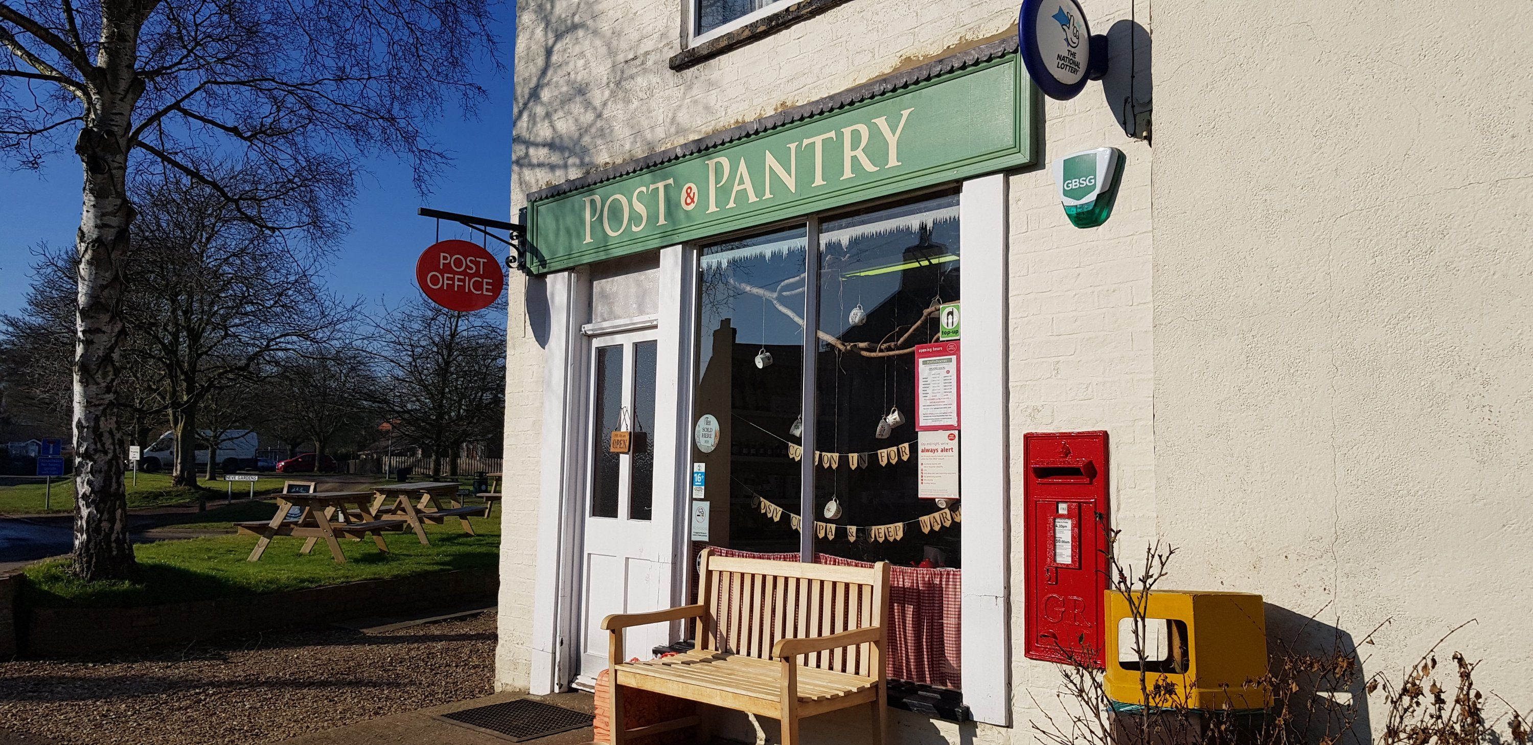 Post and Pantry Donington on Bain