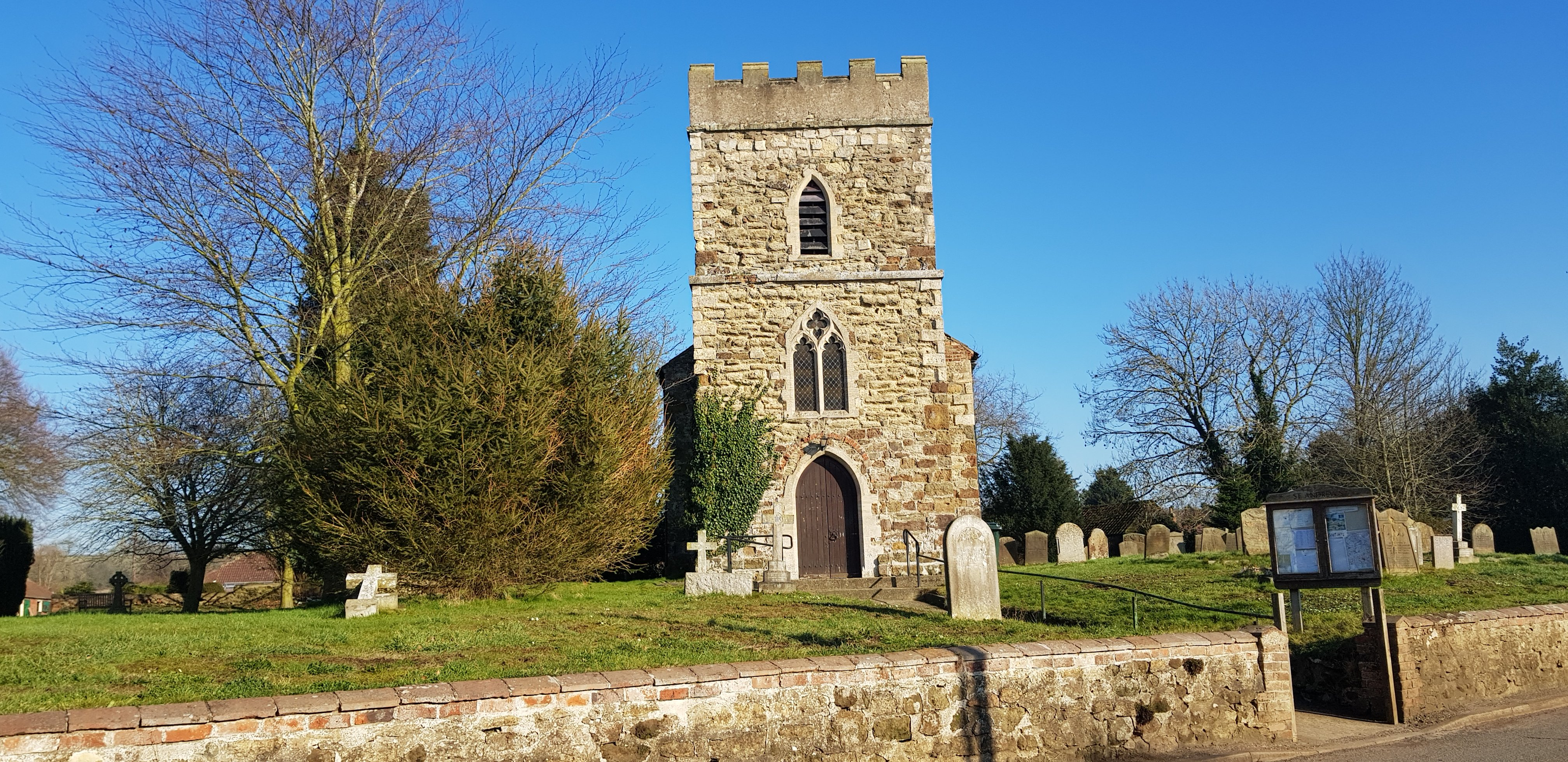 Church Donington on Bain